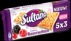 FRUITBISCUIT SULTANA BOSVRUCHTEN 5X3 STUKS