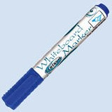 Viltstift CIVO whiteboard rond 2-3mm blauw