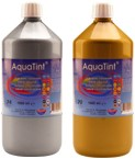 AQUATINT WATERVERF 1000 ML ZILVER