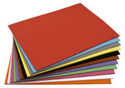 Tekenpapier 120 grams gekleurd 50x32 cm
