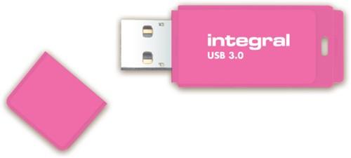USB-STICK INTEGRAL FD 16GB NEON ROZE 1 STUK-3