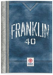 SCHRIFT FRANKLIN & MARSHALL BOYS A4 RUIT 1 STUK