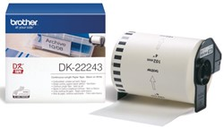 LABEL ETIKET BROTHER DK-22243 102MMX30.48M THERM 30.48 METER