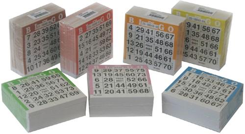 BINGOBLOK 105MMX105MM 25VEL 20 Blok
