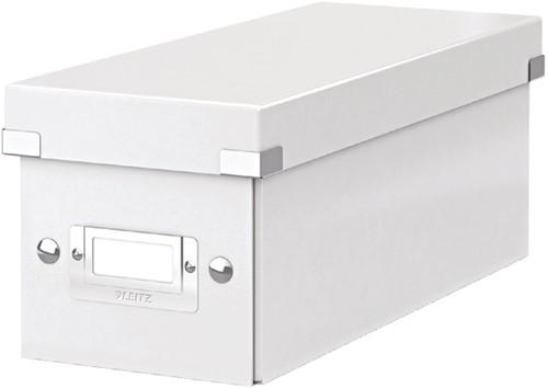 CD-BOX LEITZ CLICK&STORE 143X136X352MM WIT 1 Stuk