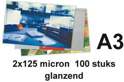 LAMINEERHOES BUDGET A3 2X125MICRON 100 STUK