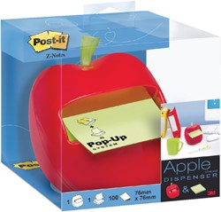 MEMOBLOKDISPENSER 3M POST-IT Z-NOTE APL330 APPEL 1 STUK