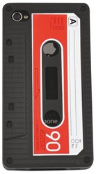 HOES SILICONE FUN CASSETTE IPHONE 4/4S 1 STUK