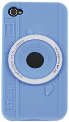 HOES SILICONE FUN FOTOCAMERA IPHONE 4/4S 1 STUK