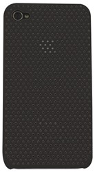 HOES CASE IPHONE 4/4S PERFORATED ZWART 1 STUK