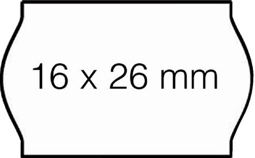 PRIJSETIKET OPEN-DATA S14 PERM WIT 1000 Etiket