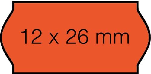 PRIJSETIKET OPEN-DATA PERM FLUOR ROOD 1500 Etiket