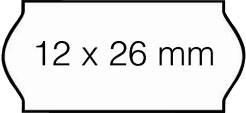 PRIJSETIKET OPEN-DATA C6 PERM WIT 1500 Etiket