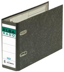 ORDNER ELBA RADO A5 DWARS 75MM KARTON ZWART 1 STUK