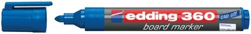 VILTSTIFT EDDING 360 WHITEBOARD ROND 1.5-3MM BLAUW 1 Stuk