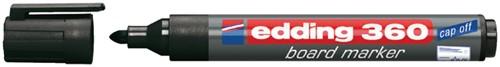 VILTSTIFT EDDING 360 WHITEBOARD ROND 1.5-3MM ZWART 1 Stuk
