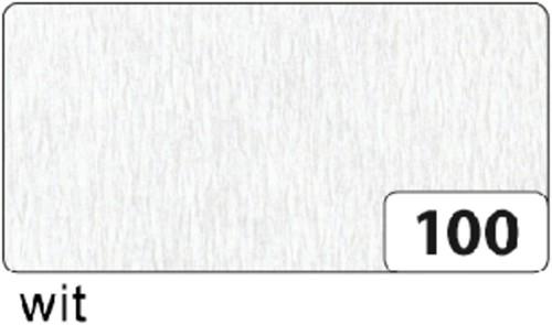 CREPEPAPIER FOLIA 250X50CM NR100 WIT 1 Stuk