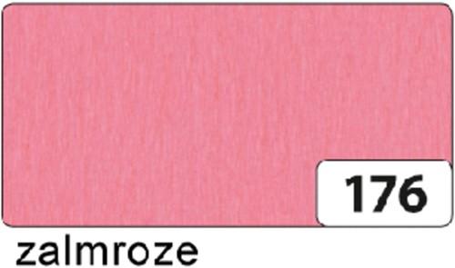 CREPEPAPIER FOLIA 250X50CM NR176 ZALMROZE 1 Stuk