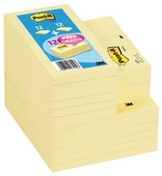 MEMOBLOK 3M POST-IT 654-655 EN GRATIS 653653 36 STUK