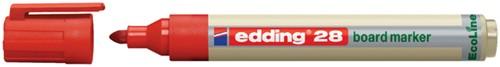 VILTSTIFT EDDING 28 WHITEBOARD ECO ROND 1.5-3MM RD 1 Stuk