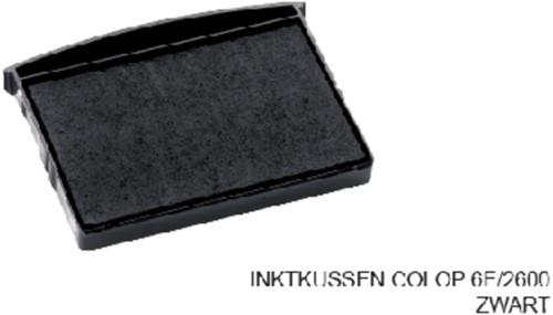 INKTKUSSEN COLOP 6E/2600 ZWART 1 Stuk