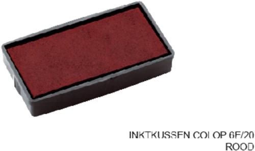 INKTKUSSEN COLOP 6E/20 ROOD 1 Stuk