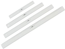 LINIAAL M&R 1140/000 PLASTIC 40CM TRANSPARANT 1 STUK