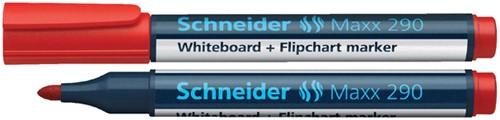 VILTSTIFT SCHNEIDER 290 WHITEBOARD ROND 2-3MM ROOD 1 Stuk