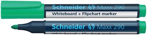 VILTSTIFT SCHNEIDER 290 WHITEBOARD ROND 2-3MM GROEN 1 Stuk