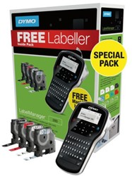 LABELMANAGER DYMO LM280 QWERTY BUNDELPACK 1 STUK