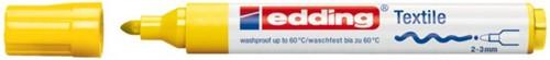 VILTSTIFT EDDING 4500 TEXTIEL ROND 2-3MM GEEL 1 STUK