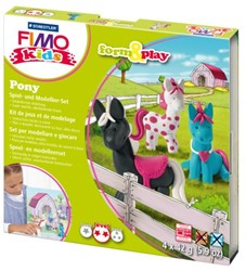 KLEI FIMO KIDS STAEDTLER FORM & PLAY PONY 1 STUK