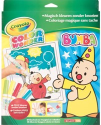 KLEUR BOX CRAYOLA COLOR WONDER BUMBA 1 STUK