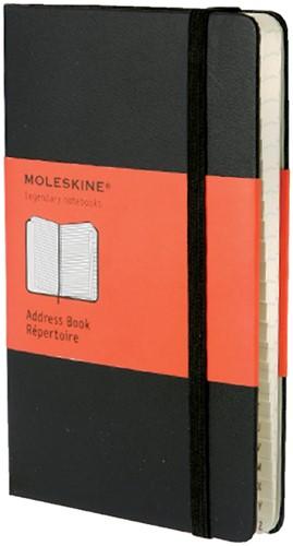 ADRESBOEK MOLESKINE LARGE 1 Stuk