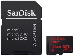 GEHEUGENKRT SANDISK MICRO SDXC ANDROID 128GB CL10 1 STUK