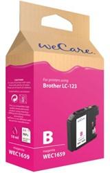 INKCARTRIDGE WECARE BRO LC-123 ROOD 1 STUK