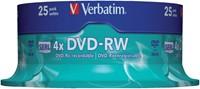 DVD-RW VERBATIM 4.7GB 4X 25PK SPINDEL 25 STUK-3