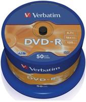DVD-R VERBATIM 4.7GB 16X 50PK SPINDEL 50 STUK-2