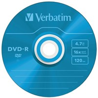 DVD-R VERBATIM 4.7GB 16X COLOUR 5PK SLIMLINE JC 5 STUK-3
