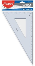 GEODRIEHOEK MAPED 60GR 32CM 1 STUK