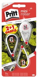 CORRECTIEROLLER PRITT MINI MONSTER 4.2MM 2+1 GRATIS 2+1 STUK