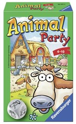 SPEL RAVENSBURGER ANIMAL PARTY 1 STUK