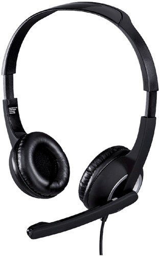 HEADSET HAMA HS-P150 PC ON EAR ZWART 1 Stuk