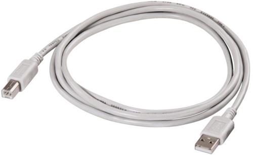 KABEL HAMA USB A-B 1.8M GRIJS 1 STUK-2