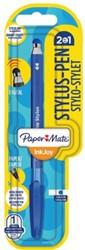 BALPEN PAPER MATE INKJOY 100CAP STYLUS M BLAUW 1 STUK