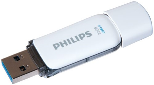 USB-STICK PHILIPS SNOW KEY TYPE 32GB 3.0 GRIJS 1 STUK