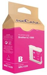 INKCARTRIDGE WECARE BRO LC-1000 ROOD 1 STUK