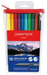 BRUSHSTIFT CARAN D'ACHE AQUAREL FIBRALO 10 STUK