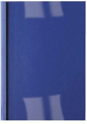 THERMISCHE OMSLAG GBC A4 1.5MM LEER DONKERBLAUW 100 STUK