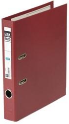 ORDNER ELBA RADO PLAST A4 50MM PVC DONKERROOD 1 STUK